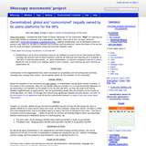 99occupy movements' project wiki