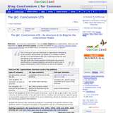 Blog ComComism ( for Common Companies) wiki