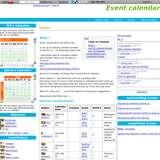 Event calendar wiki