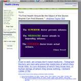 Health Library wiki