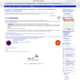 Common Companies/Companions: ComComized @ Postnational Solutions wiki