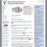 Digital Standards Organization wiki