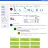 Sniki Wiki Social Media List wiki